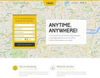 Taksi PSD Template by vishnusathyan