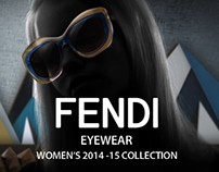FENDI 2014-15 Eyewear Collection