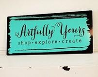 Artfully Yours- Graphic Design, Web Design, Branding