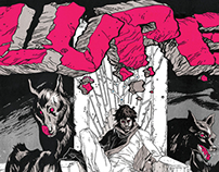 Lupe: Tetsuo and the Wolves Tour poster
