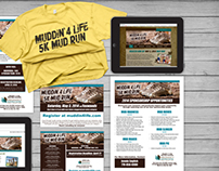 Muddin' 4 Life 5K :: Branding, Marketing Strategy
