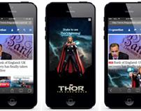 Mobile Rich Media Portfolio