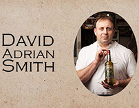 Trabalho sobre o designer David Adrian Smith