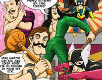 Jamstrip Comic : Petualangan Brutu