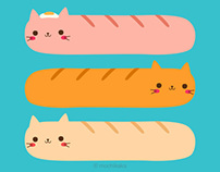Cat sausages