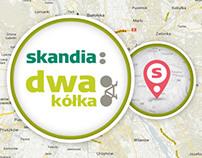 Skandia - Dwa kółka - trasy rowerowe