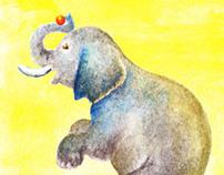 Ilustrações - aquarela