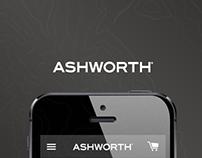 Ashworth Golf - Responsive Redesign