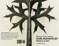 Karl Blossfeldt Photography Book Design