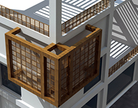 Upcycled Architecture University Project