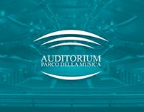 Auditorium Parco della Musica | UI / UX Restyling |