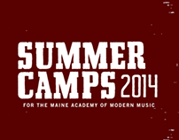 MAMM Summer Camps 2014