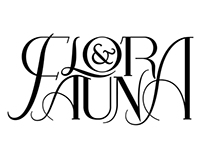 Flora & Fauna Custom Typography