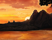 Matte Painting - The Thorn productions