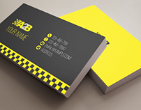 Travel A2B taxi company (Stationery Design)