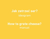ideogram // how to grate cheese?
