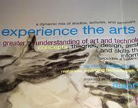 Visual Art & New Media Brochure
