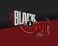 Black&Hacker Landing Page 2014