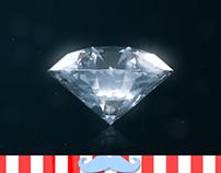 Diamond Logo Reveal // Videohive