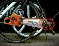 The Amsterdam Chainsaw Bicycle