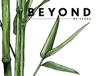 BEYOND by Lexus - informative illustrations