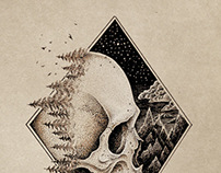 Tattoo style illustrations