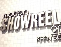 Show-reel 2014