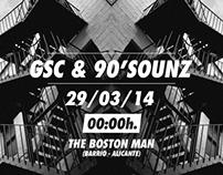 GSC & 90'SOUNZ [cartel]