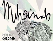 Here but Gone Muhsinah Tour Poster