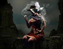 Thelxiepeia - 2014 - A siren amidst ruins.