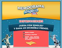 Memoorama Singles® - Web App