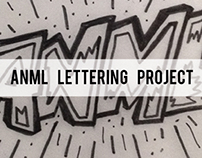 Anml Lettering Project