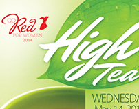 High Tea - ticket design