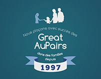 GreatAuPairs - Motion design
