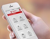 Vodafone IOS7 App