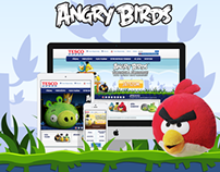 Angry Birds -Tesco campaign - 2014