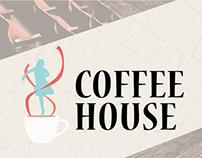 Graphic Arts: Coffee House Fundraiser Marketing