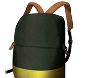 Backpack Concept for The Herschel Supply Co.