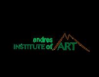 andres Institute of Art - Rebranding