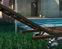 Casa - 3D Max + Autocad