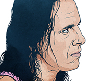 Wrestlemania Editorial Illustrations