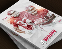 2014 Alabama Spring Media Guide Covers