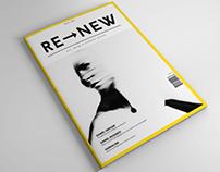 RE–NEW Magazine  01