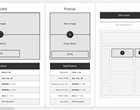 Page Builder Wireframes