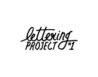 Lettering Project #1