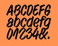 Walmer Marker Typeface