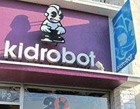 kidrobot 2012 Dunny trading party L.A