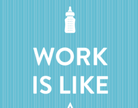 Work is like a f***ing vacation