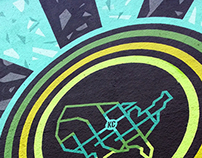Middle of the Map Fest mural 2014