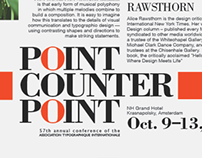Point Counter Point Posters